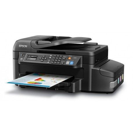 Epson L656 - Multifunction printer - Copier / Fax / Printer / Scanner
