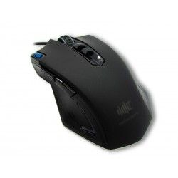 Mouse óptico Intense Devices ID-MS732, 4000 dpi, gamer, USB, cable de 1.80 mts, 8 botones.