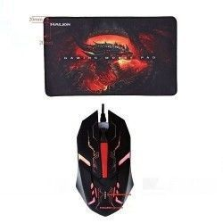 Halion - Combo Gamer Mouse + Pad Mouse HA-911P Cobra