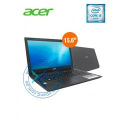 "Acer Aspire ES1-572, 15.6"" LED Intel Core i3 7100U 2.40GHz, 6GB DDR4."