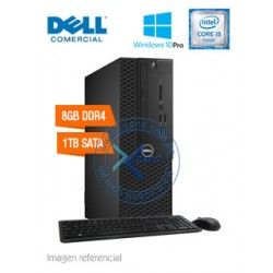 Dell Optiplex 3050, Intel Core i5-7500 3.40GHz, 8GB DDR4, 1TB SATA.